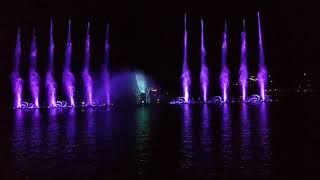 Абрау-Дюрсо Шоу Поющие фонтаны часть 3