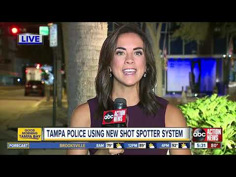 Mychal Maguire - Tampa Police 'ShotSpotter' Technology Goes Live Hn High-Crime Area