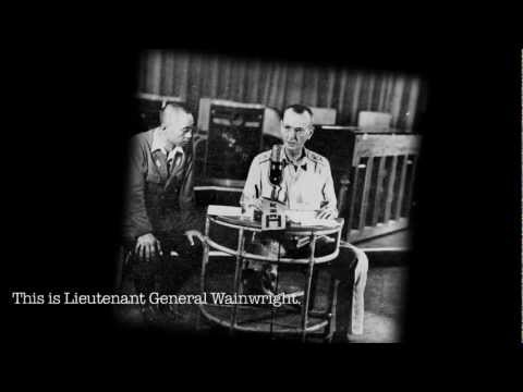 Wainwright Surrenders the Philippines - Radio Broadcast