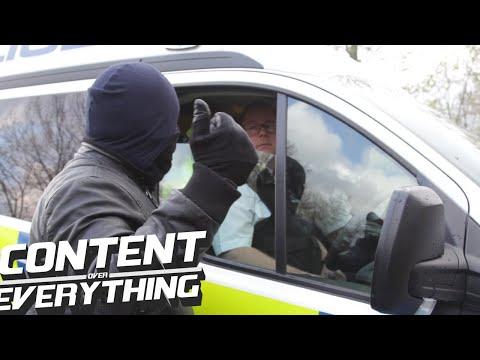 Masked Muslim Attacked   Speakers Corner Hyde Park   *B Cam