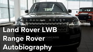 Land Rover LWB Range Rover Autobiography  black/black | SHOWROOM