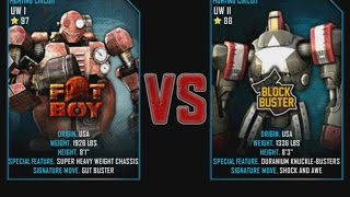 Real Steel WRB Fat Boy VS Blockbuster NEW graphics blows