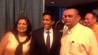 Meeting Dr. Sanjay Gupta