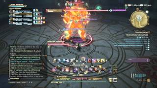 FFXIV: Heavensward Gameplay - 134 - Paladin - The Great Gubal Library (Hard)