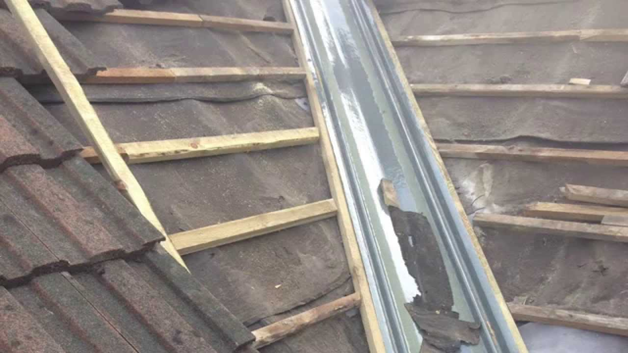Leaking Roof Valley Fixed In Bedwas Road Caerphilly Youtube