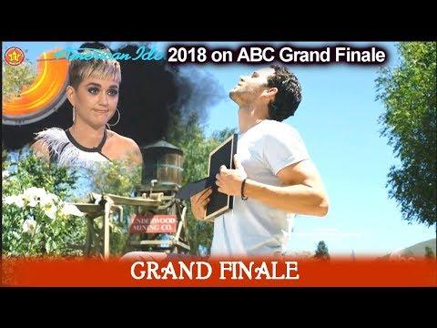 Katy Perry Funny Segment with Trevor Holmes Ada Vox & Noah Davis American Idol 2018  Grand Finale