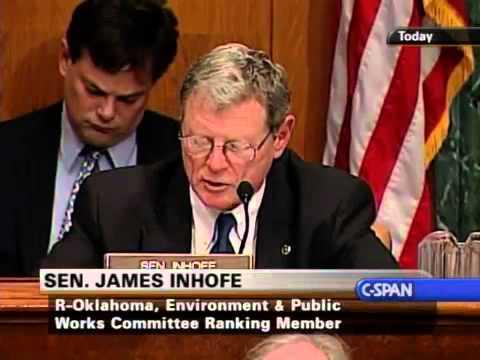 Al Gore v. Jim Infofe on climate change (3/21/2007)