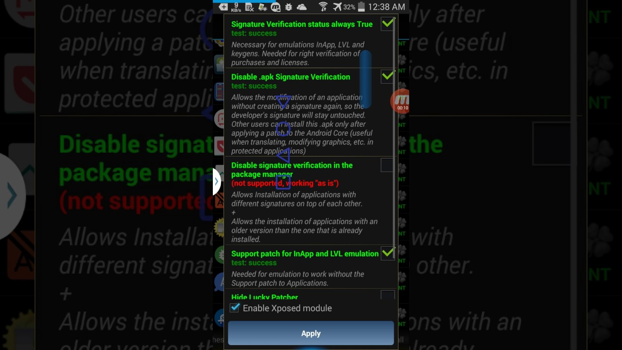 How To Enable Lucky Patcher Xposed Module Tutorial Youtube
