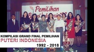 Kompilasi Video Pemilihan Puteri Indonesia Dari Tahun 1992 - 2018