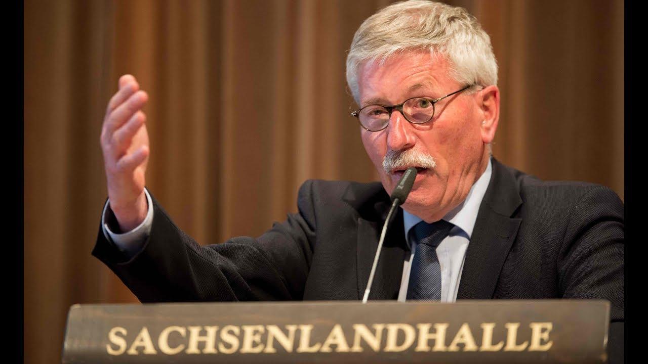 THÜRINGER SPD will AfD-Wähler zurückgewinnen: Aufregung wegen geplantem Sarrazin-Auftritt
