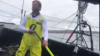 Fastnet Race day 2 update #2 onboard HUGO BOSS