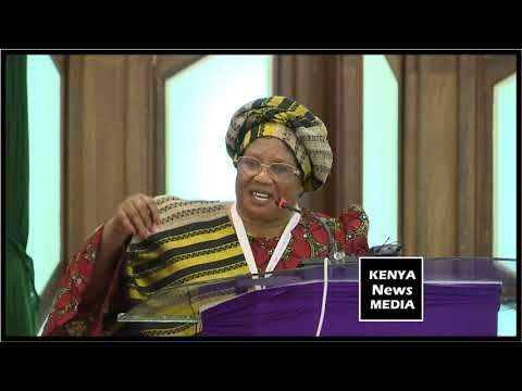 Former Malawi President Joyce Banda at African Women Leaders Network