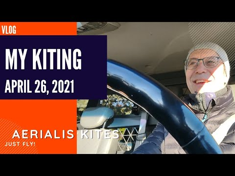 My Kiting - April 26th 2021 - Flying the Gimbal?
