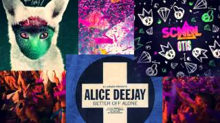Alice Deejay vs. Galantis vs. SCNDL - Better Off Alone vs. Runaway (U&I) vs. Otis (Krunk! Mashup)