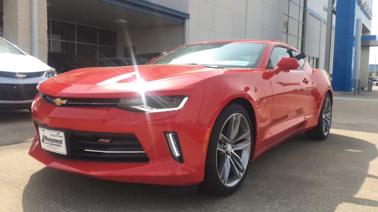 2017 chevrolet camaro 2lt w/$8,000+ options- review - youtube