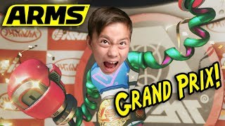 ARMS GRAND PRIX!!! Battle the Big Boss!