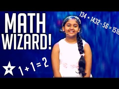 Kid Mathematician Amazes Judges on Sri Lanka's Got Talent | Got Talent Global