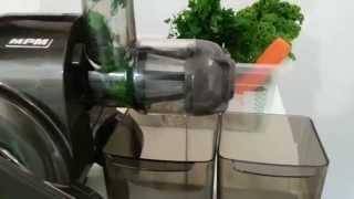 Test wyciskarki MPM Slow juicer MSO-09