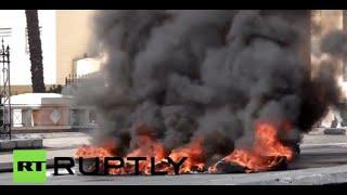 Slingshots & Stones: Palestinians clash with IDF in Bethlehem