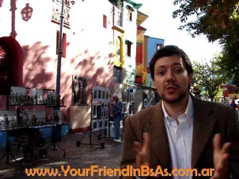 Caminito, La Boca by Your Friend In Buenos Aires, Private Tour Guide