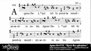 Agnus Dei VII from Mass VII, Gregorian Chant