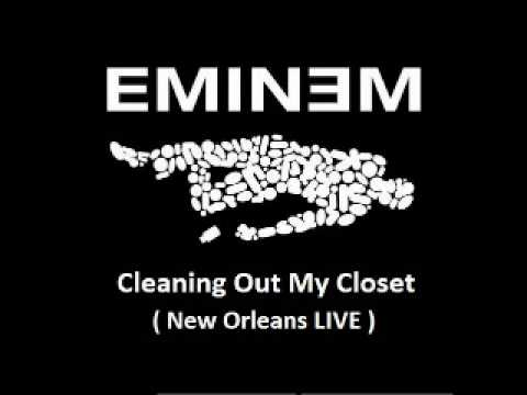 Eminem - Cleaning Out My Closet ( New Orleans LIVE )