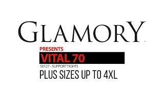 Glamory Vital 70 Support Tights   Plus Size Product Video | Glamory