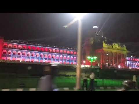 Bangalore  vidana sowda lighting