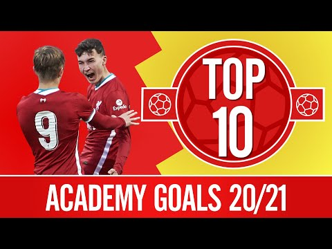 Top 10: The Academy's 20/21 best goals    30-yard free-kick, chips & more