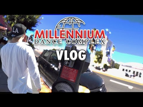 VLOG Millennium Dance Complex : First Week as a Dancer
