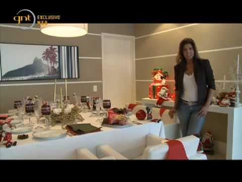 Aprenda a montar uma mesa de Natal perfeita 2015  YouTube