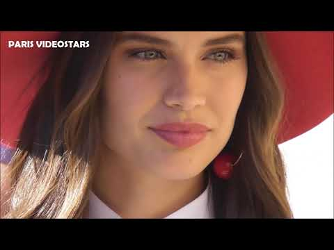 VIDEO Sara SAMPAIO attends Paris Fashion Week 2 july 2019 show Armani Privé