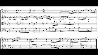 Bach Air On The G String Violin Sheet Music