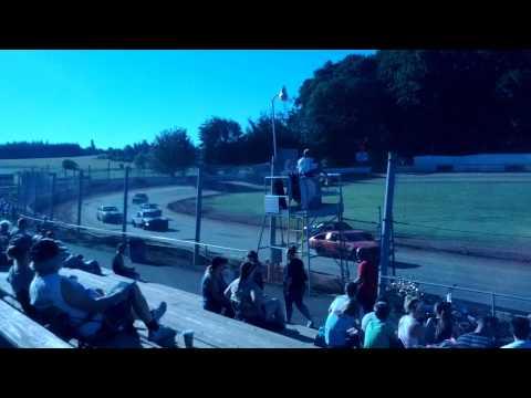 River City Speedway - St. Helens Oregon 06/29/2013 4 Cylinder Heat 1