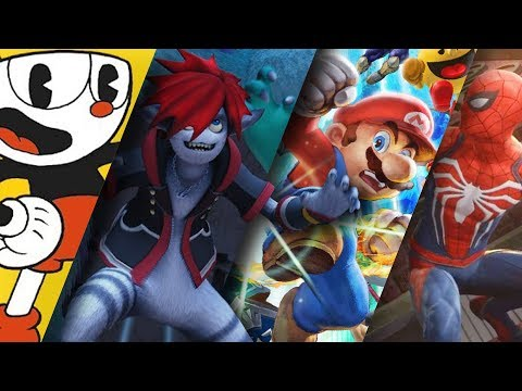 E3 2018 Video Game Trailer Compilation Review: Super Smash Bros, Kingdom Hearts, Cuphead, Spider-Man