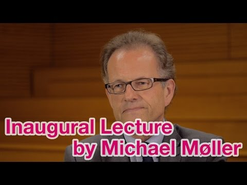 Inaugural Lecture 2014 by UNOG Acting Director-General Michael Møller