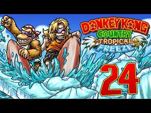 Let's Replay Donkey Kong Country Tropical Freeze [German][Funky-Modus][#24] - Schattenhafte Lawinen!