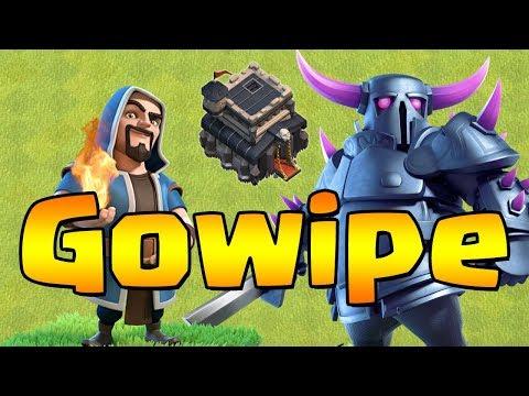 TH9 GOWIPE!  Is it STILL dead?!  Clash of Clans