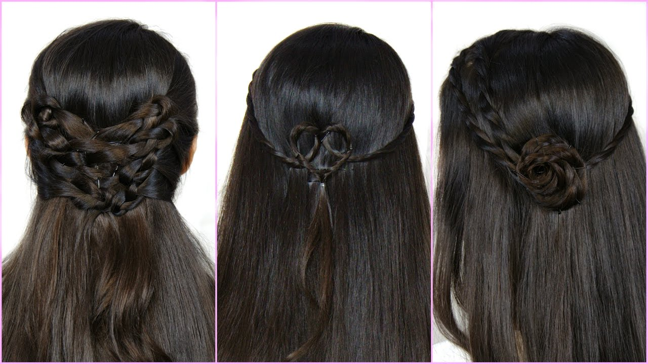 simple indian hair styles 3 simple amp easy hairstyles 4966 | maxresdefault