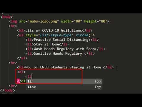 EWEB DESIGN HTML & CSS 07 - { HTML} _lists_