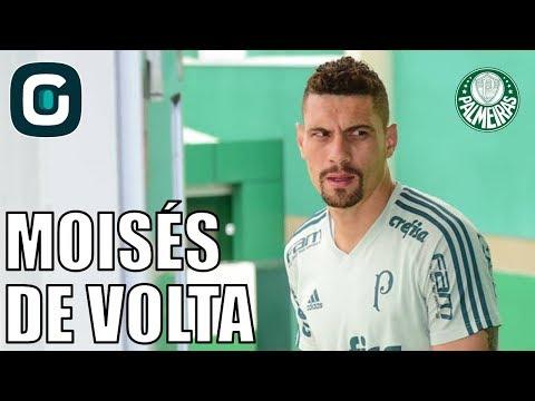 Moisés Deve Ser Surpresa Do Palmeiras Na Libertadores- Gazeta Esportiva (27/02/18)