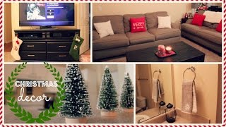 Decorating My Apartment for Christmas!