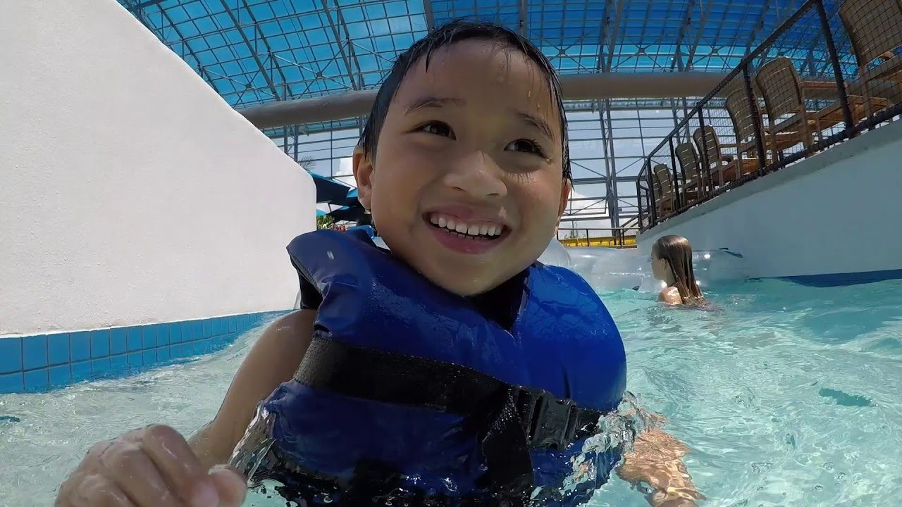 Epic indoor Water Park in Grand Prairie TX - YouTube