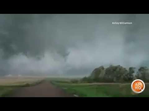 Tornado in North Dakota, U.S 03.08.2016