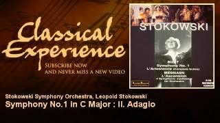 Stokowski - Georges Bizet : Symphony No.1 in C Major : II. Adagio - ClassicalExperience