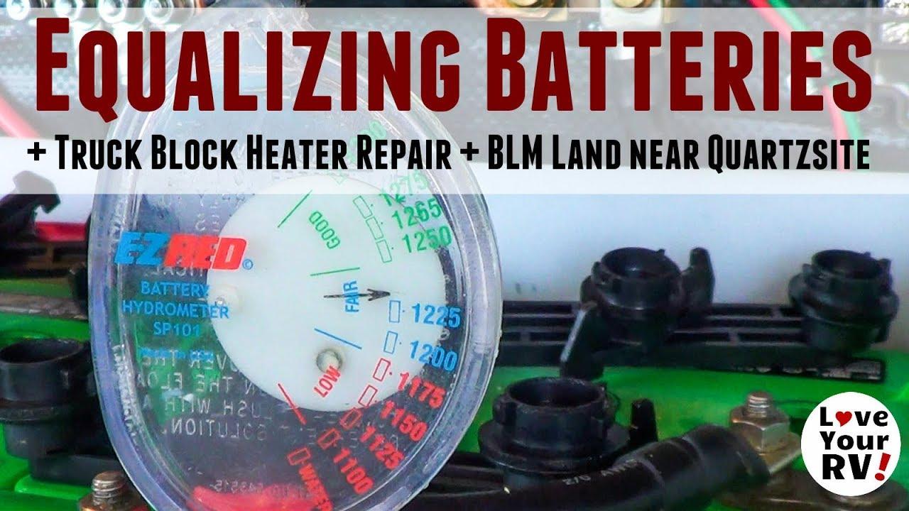 equalizing-batteries-minor-truck-repair-quartzsite-arizona-blm