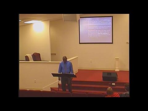 Fundamental Christian Doctrine, Wednesday Night Bible Study 18 October 2017