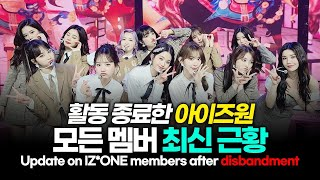 Complete update on every member of IZ*ONE after IZ*ONE's disbandment