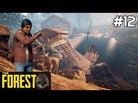 The Forest PL Gameplay [#12] FORTECA w wersji SUPER /z Skie