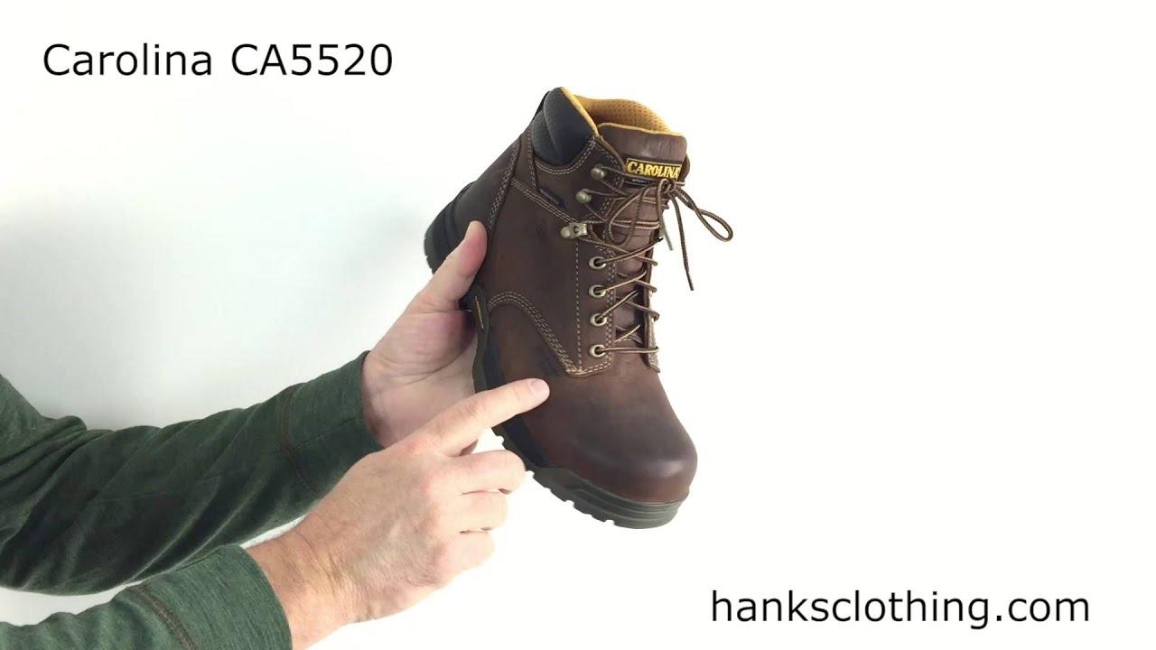 1a99e0c6d03 Carolina Broad Toe Composite Safety Toe Boots Style CA5520